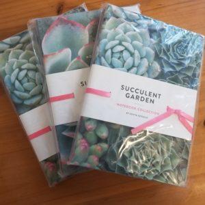 Succulent Garden Notebooks