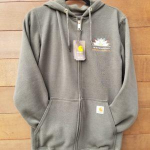 mens Carhartt zip hoodie