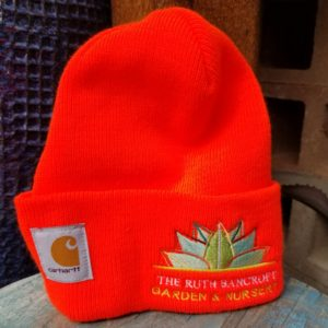 Orange Carhartt Beenie hat