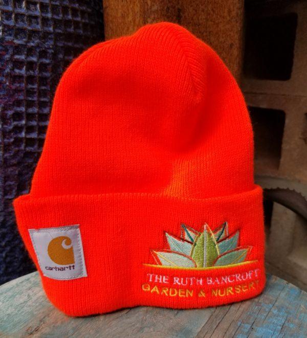 Orange Carhartt Beenie hat