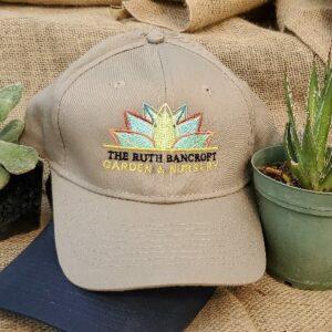tan logo hat
