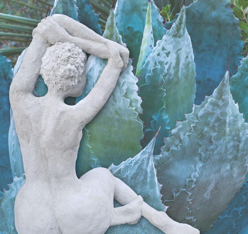 Fitz Faulkner nude sculpture