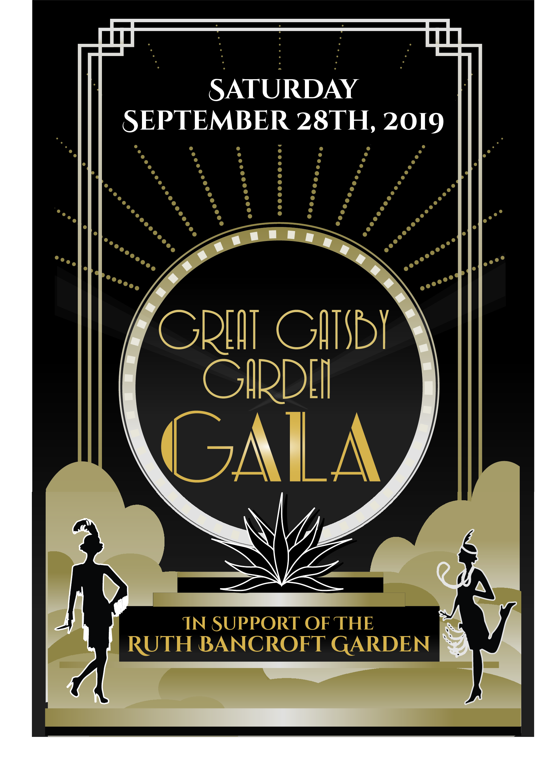 Great Gatsby Garden Gala 2019 Save the Date