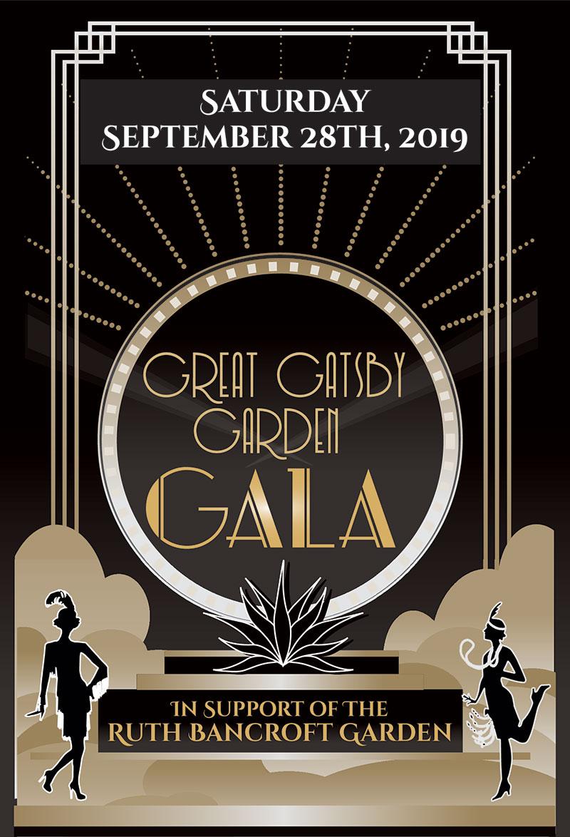 Great Gatsby Garden Gala 2019 Save the Date