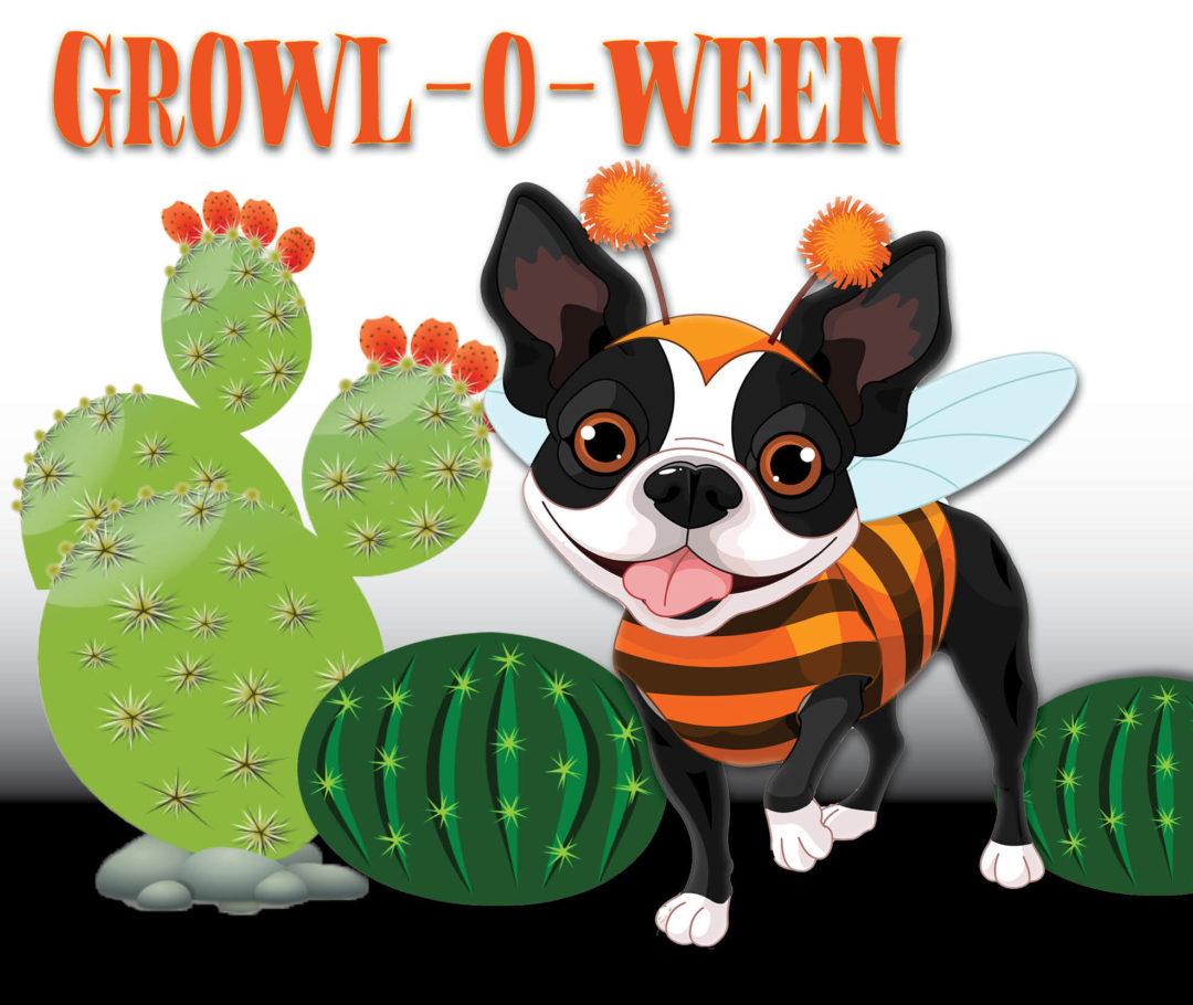 Growl-o-ween logo