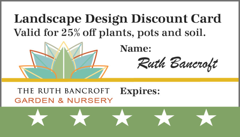 Design discount card