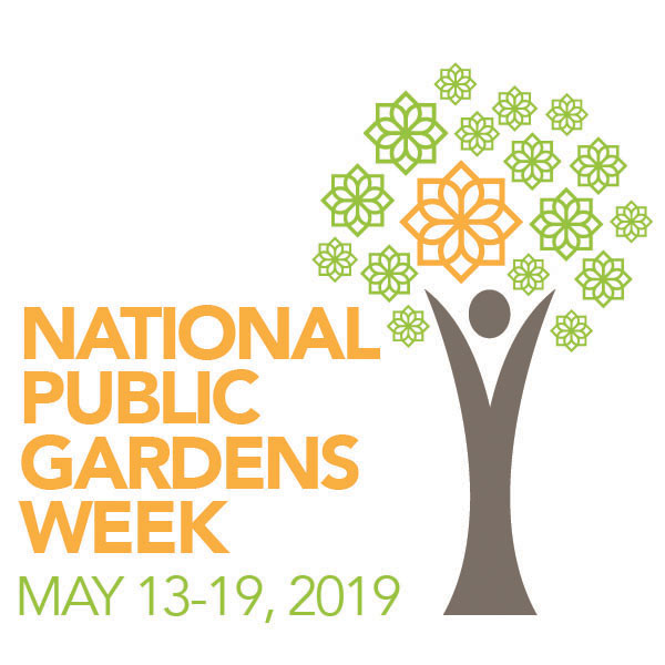 National Public Gardens Week logo