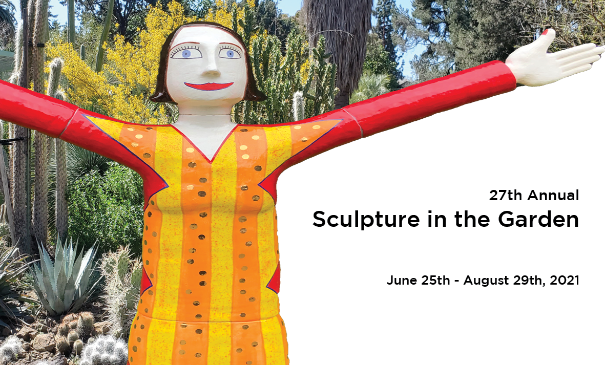 Sculpture in the Garden 2021 logo