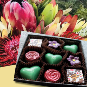 Mother's Day bouquet and chocolates