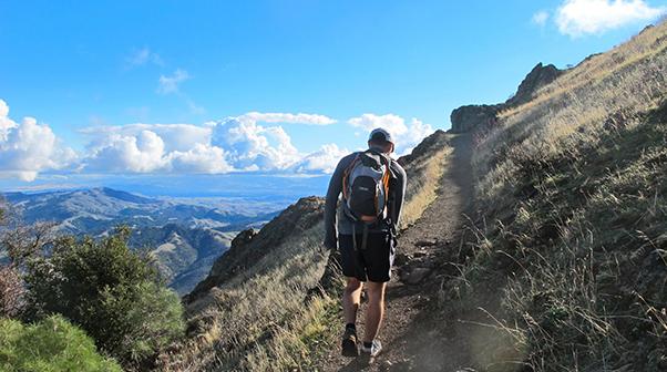 Mt Diablo Hiker