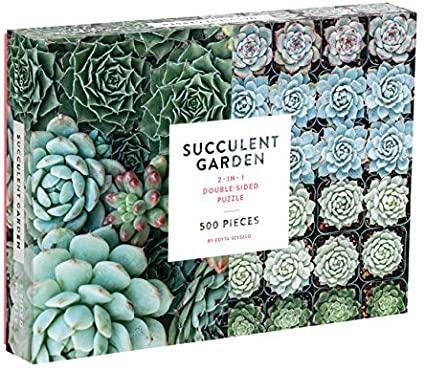 Succulent jigsaw puzzle
